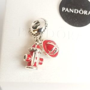 Pandora Firefighter Essentials Dangle Charm Silver
